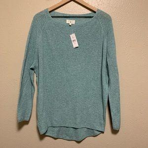 Lou & Grey oversized lightweight thin knit sweater